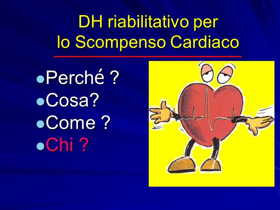 DH riabilitativo per lo Scompenso Cardiaco Perché Cosa Come Chi