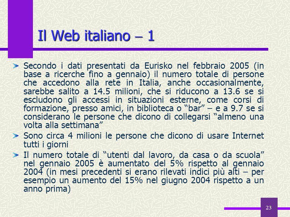Il Web italiano  1
