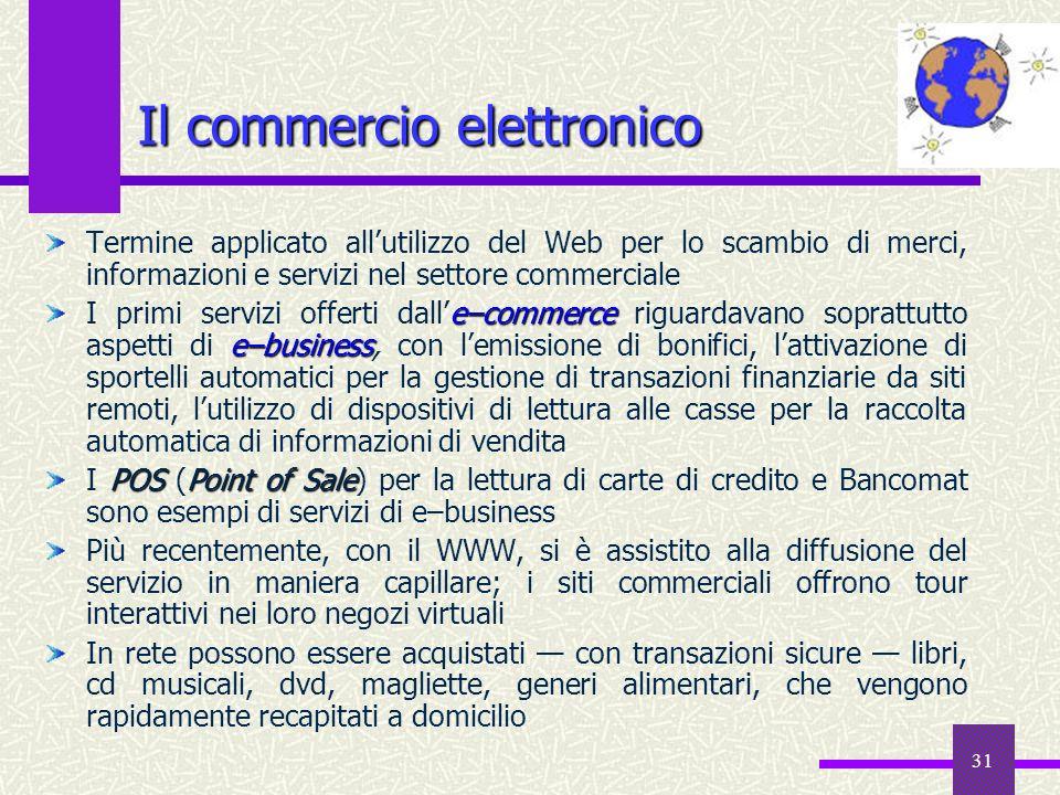 Il commercio elettronico