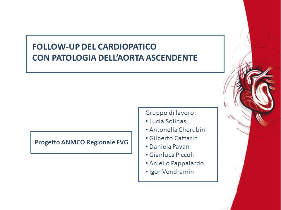 Progetto ANMCO Regionale FVG