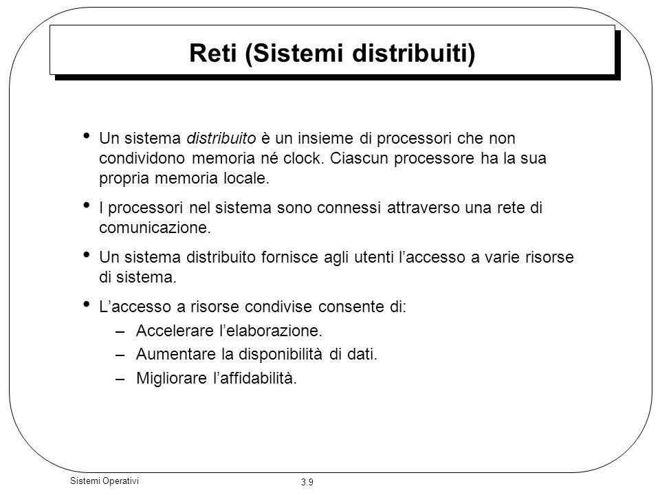 Reti (Sistemi distribuiti)