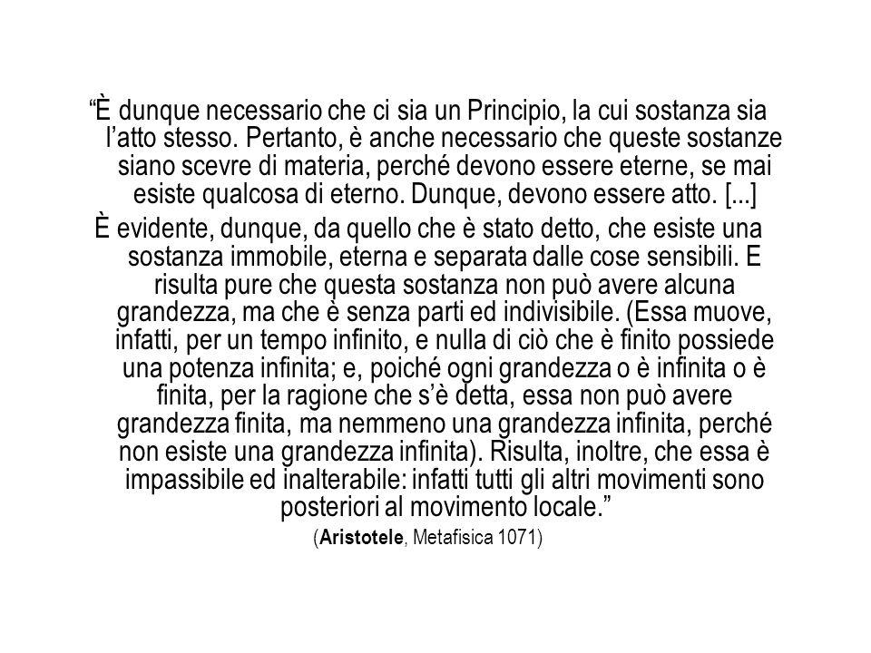 (Aristotele, Metafisica 1071)
