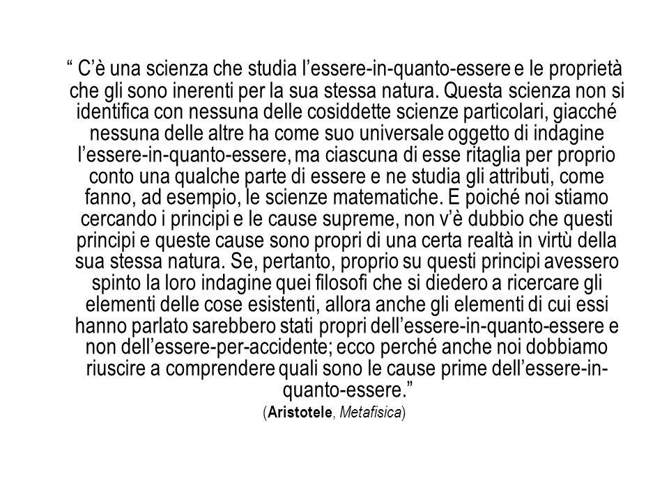 (Aristotele, Metafisica)