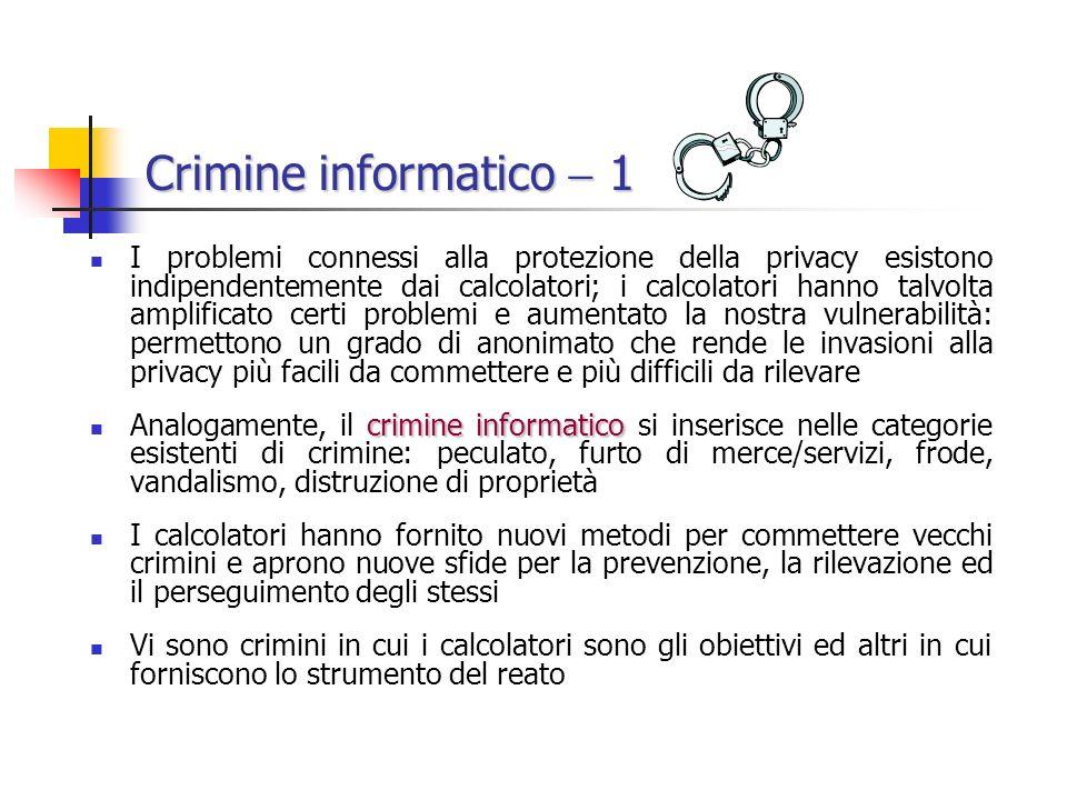 Crimine informatico  1
