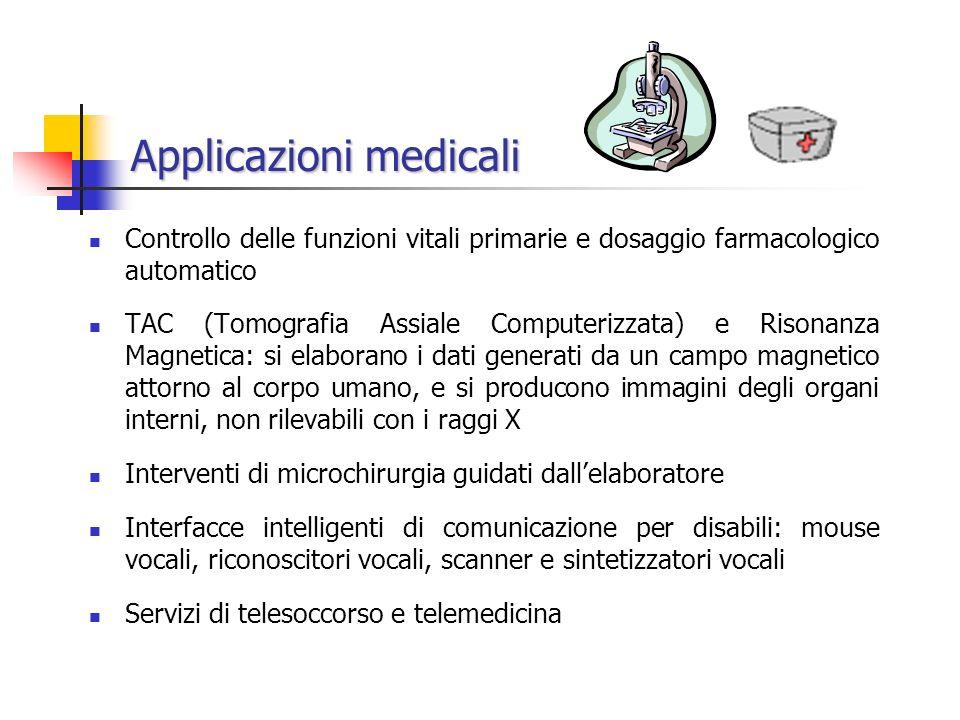 Applicazioni medicali