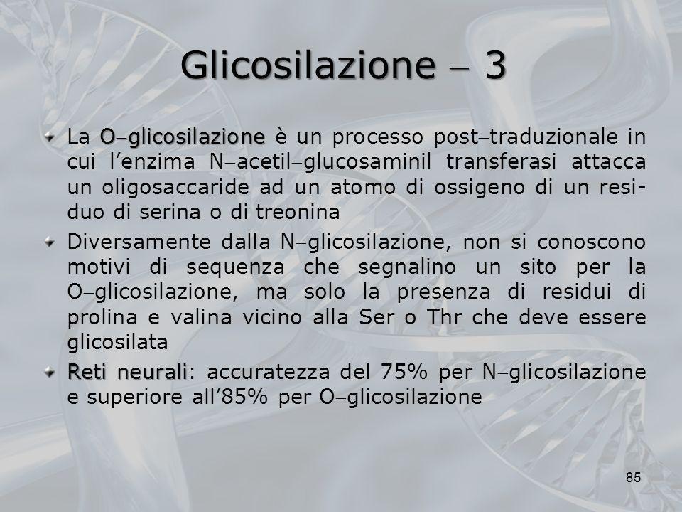 Glicosilazione  3