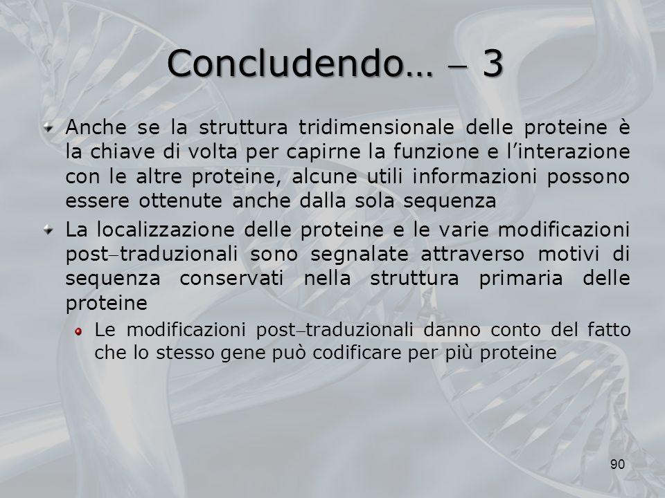 Concludendo…  3