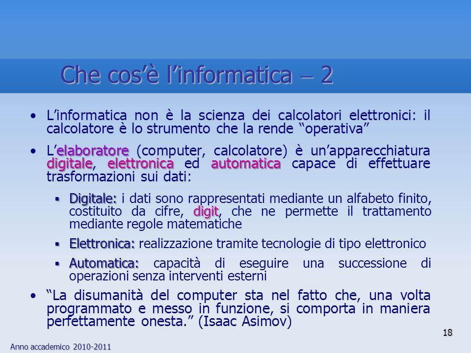 Che cos'è l'informatica  2