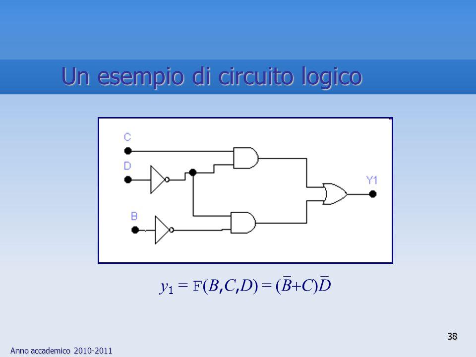 Un esempio di circuito logico