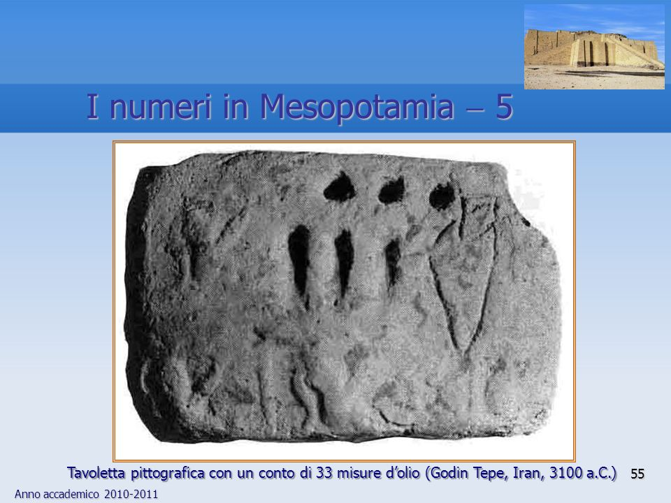 I numeri in Mesopotamia  5