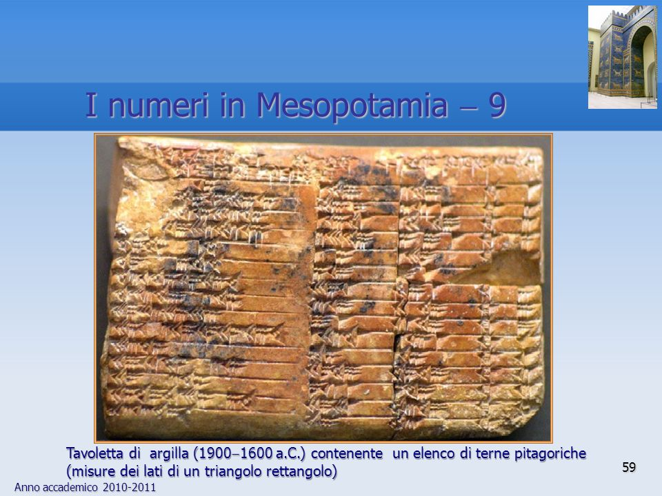 I numeri in Mesopotamia  9