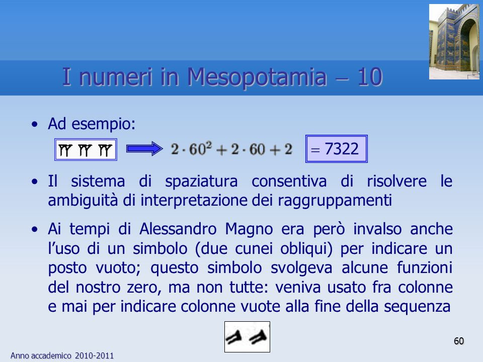 I numeri in Mesopotamia  10