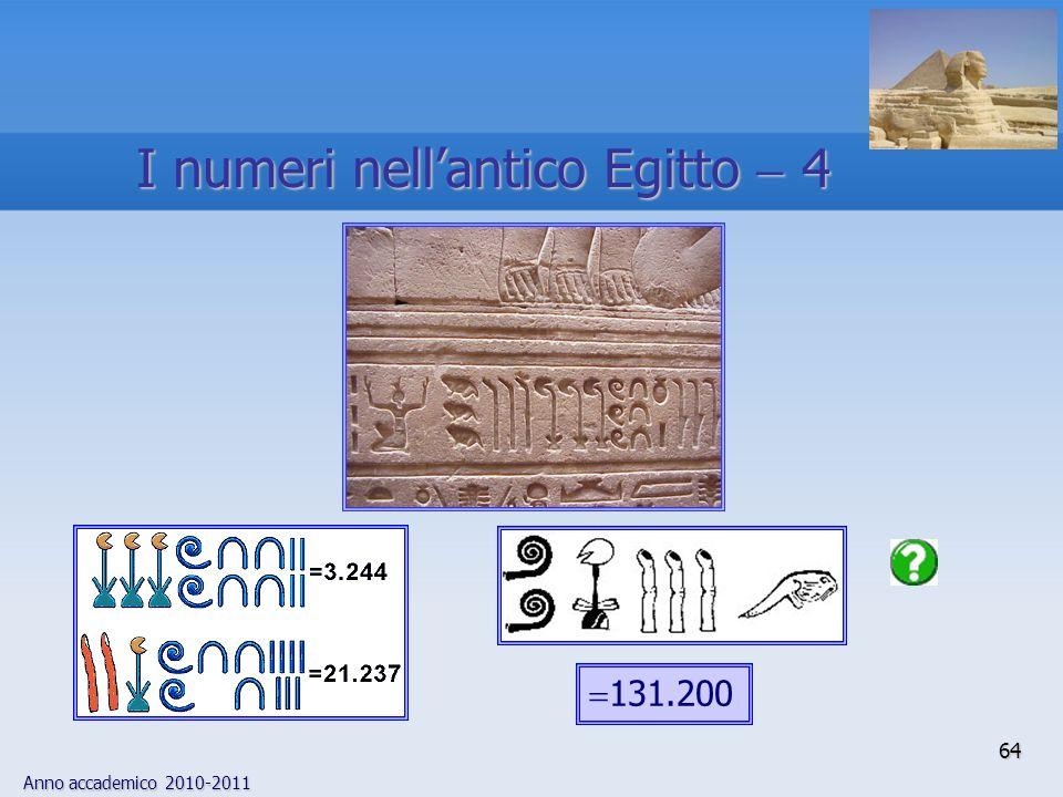 I numeri nell'antico Egitto  4
