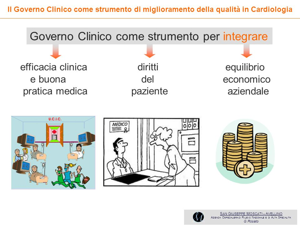 Governo Clinico come strumento per integrare