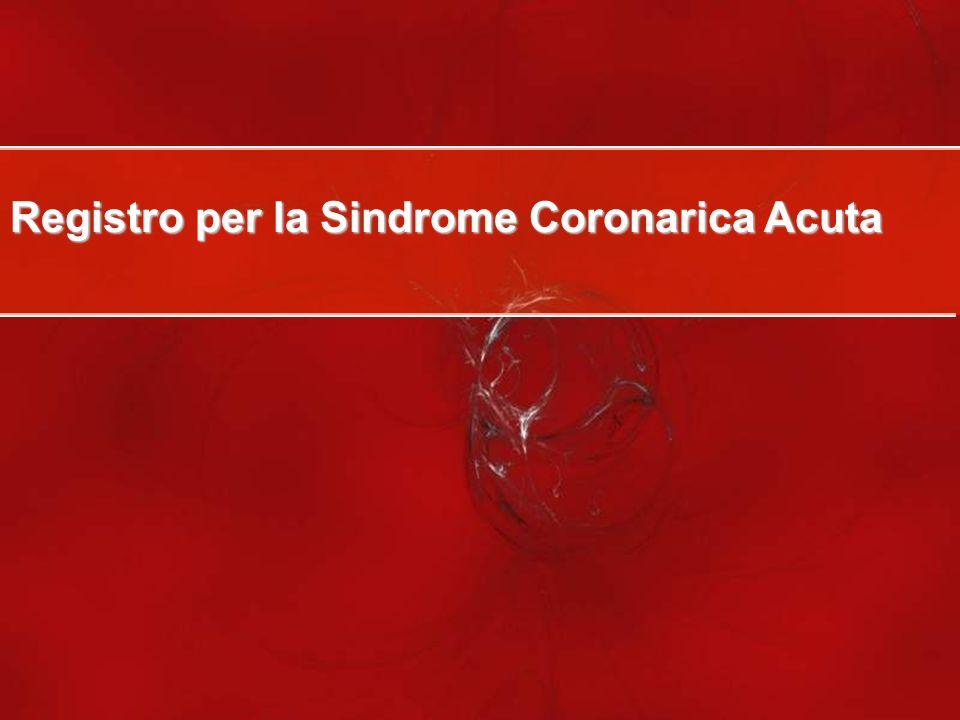 Registro per la Sindrome Coronarica Acuta