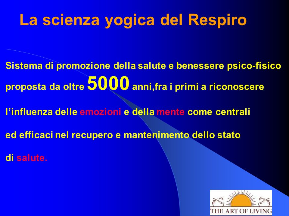 La scienza yogica del Respiro