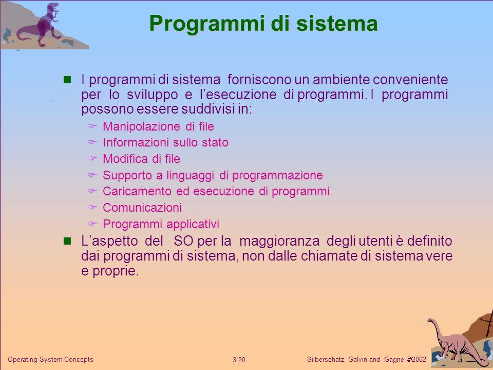 Programmi di sistema