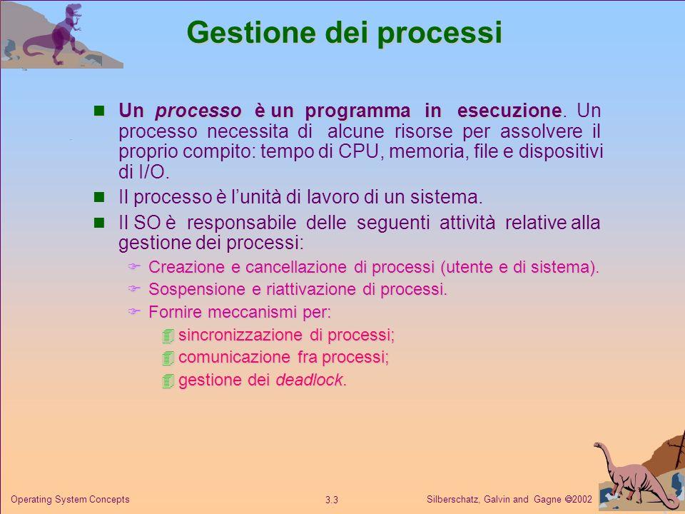 Gestione dei processi