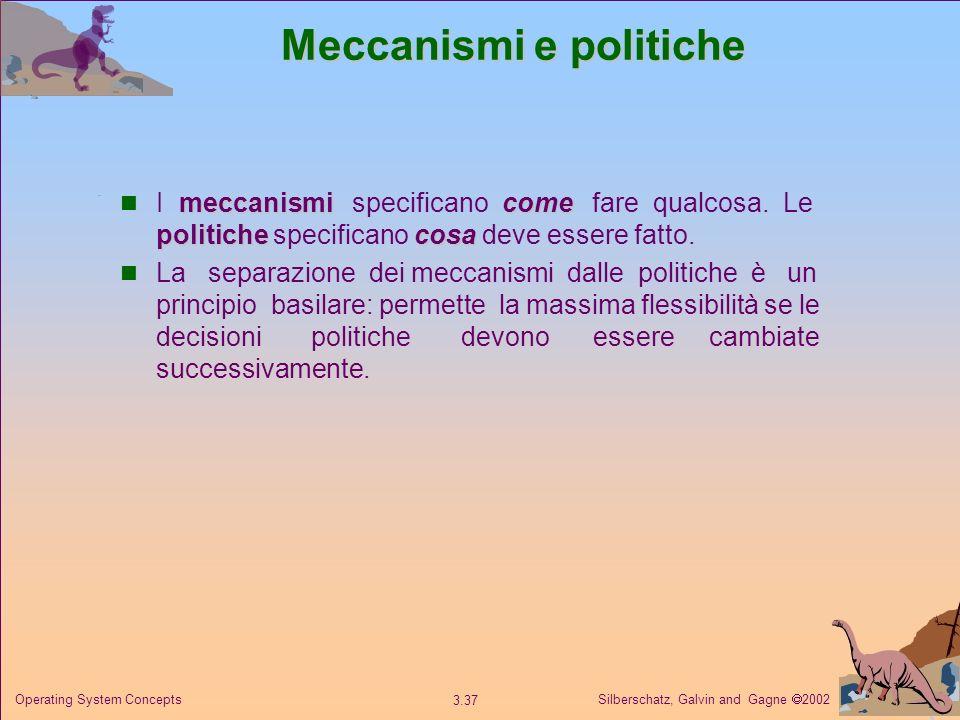 Meccanismi e politiche