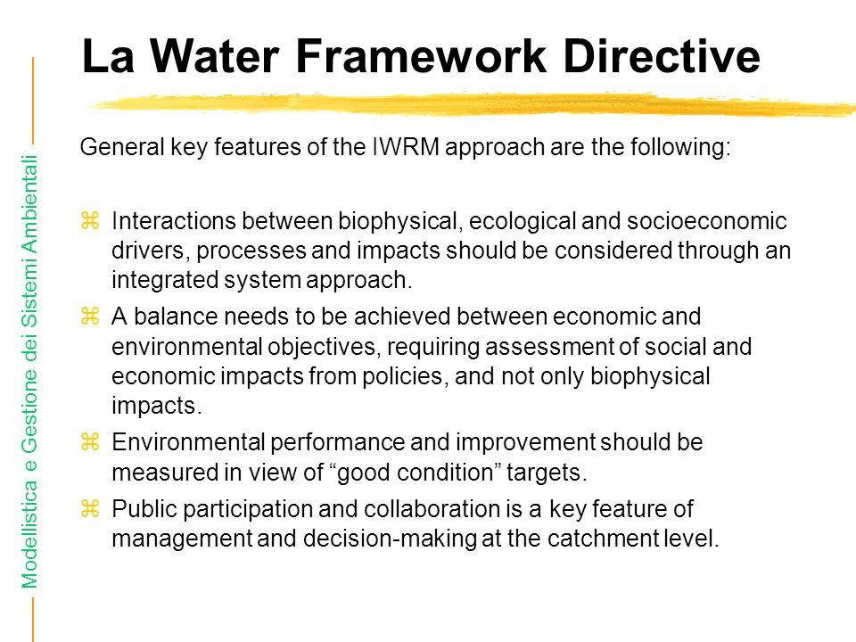 La Water Framework Directive