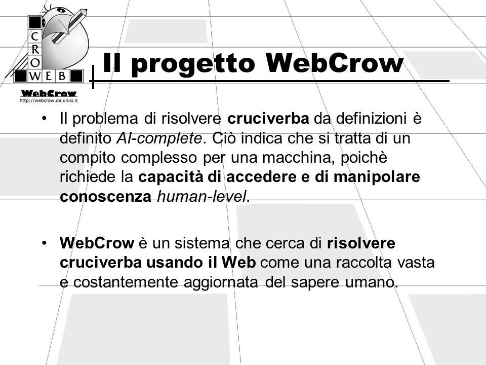 Il progetto WebCrow