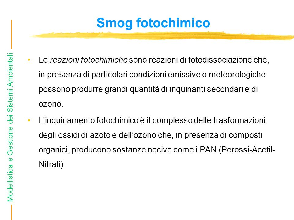 Smog fotochimico