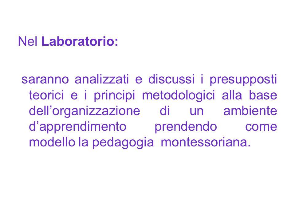 Nel Laboratorio: