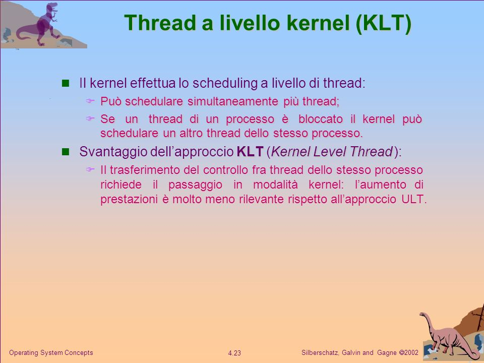 Thread a livello kernel (KLT)