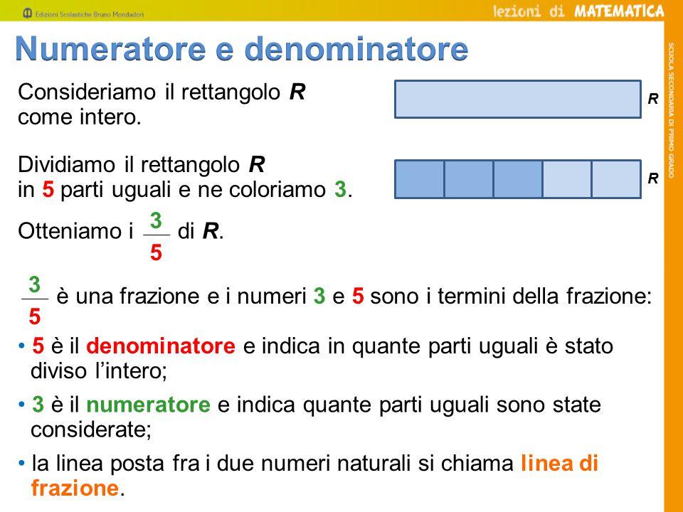 Numeratore e denominatore