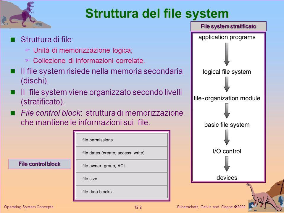 Struttura del file system