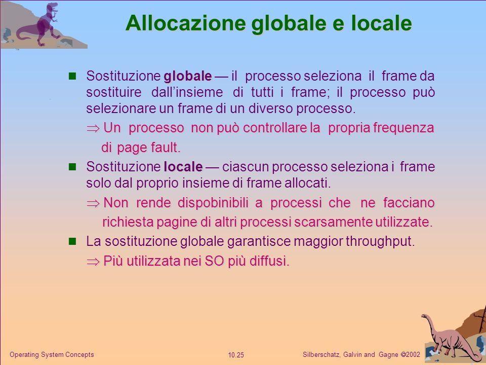 Allocazione globale e locale