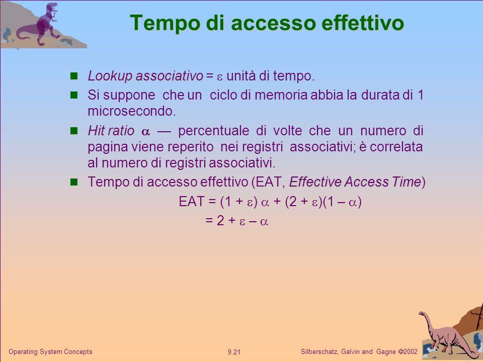 Tempo di accesso effettivo