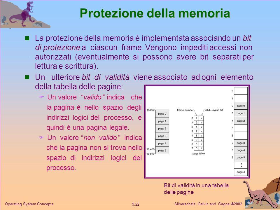 Protezione della memoria
