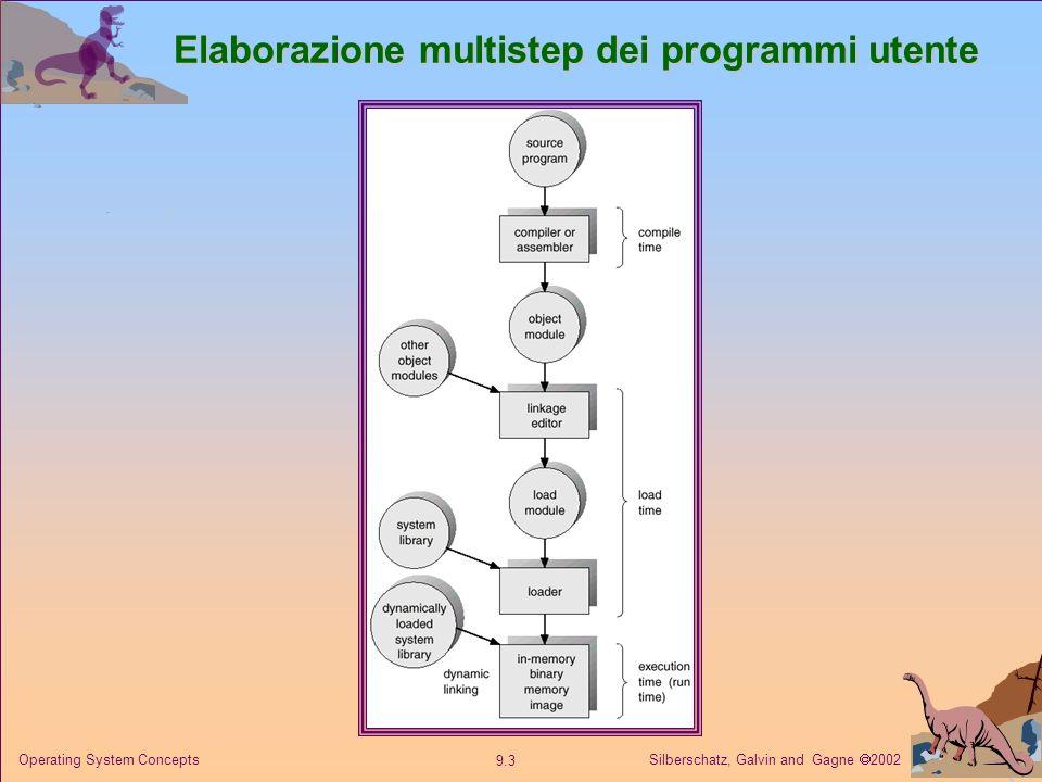 Elaborazione multistep dei programmi utente