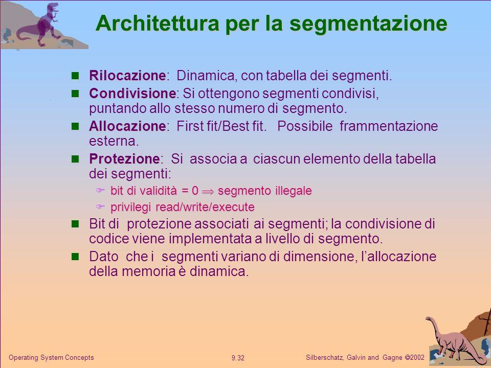 Architettura per la segmentazione