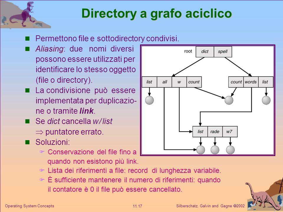 Directory a grafo aciclico