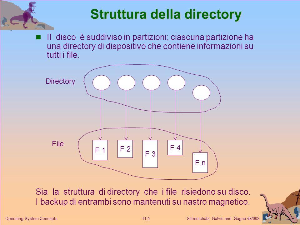 Struttura della directory