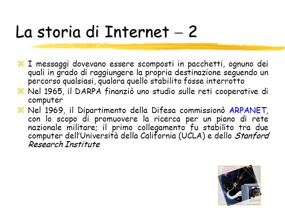 La storia di Internet  2