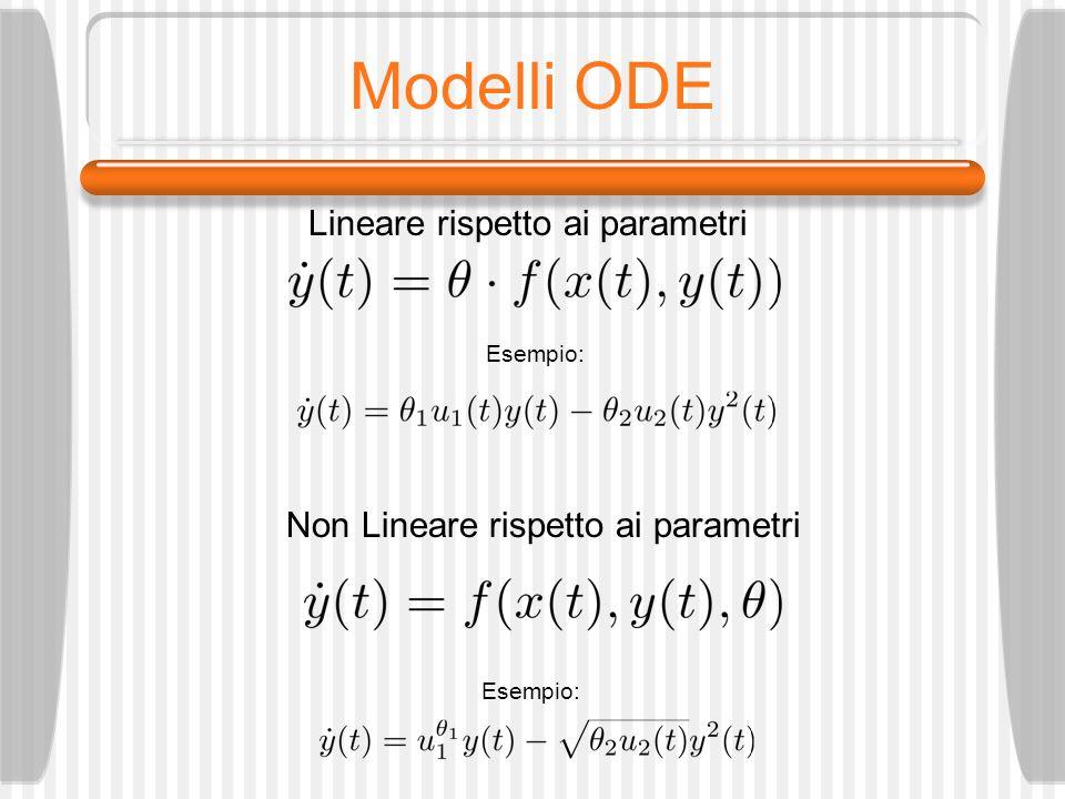 Modelli ODE Lineare rispetto ai parametri