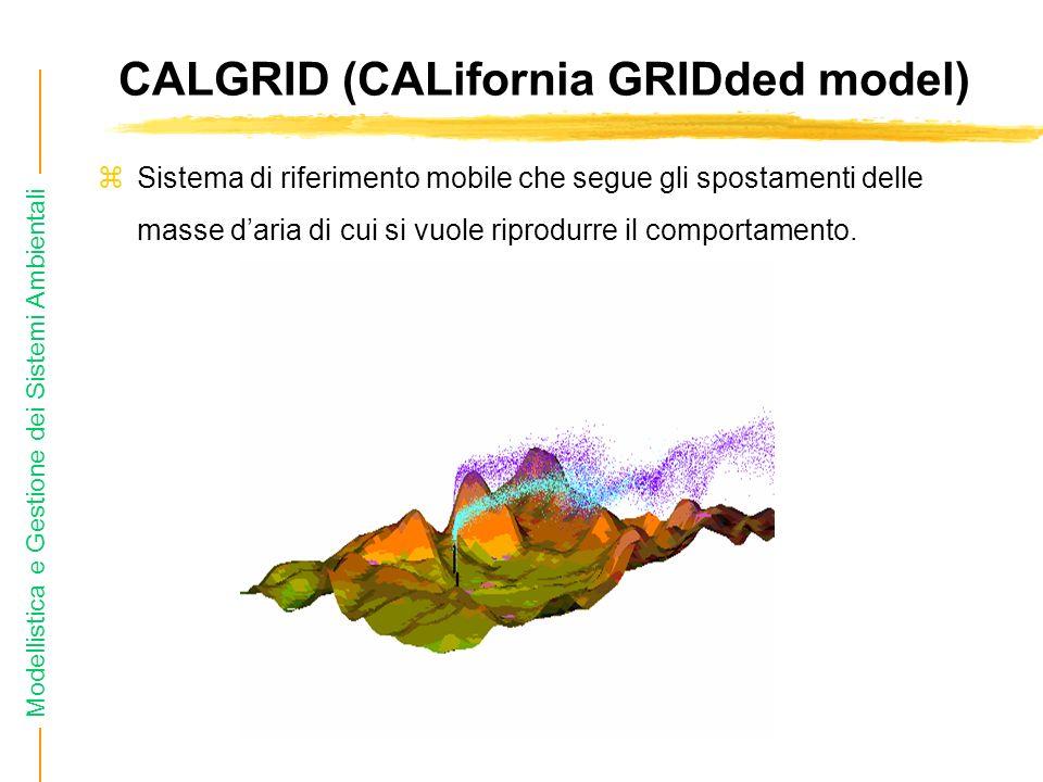 CALGRID (CALifornia GRIDded model)