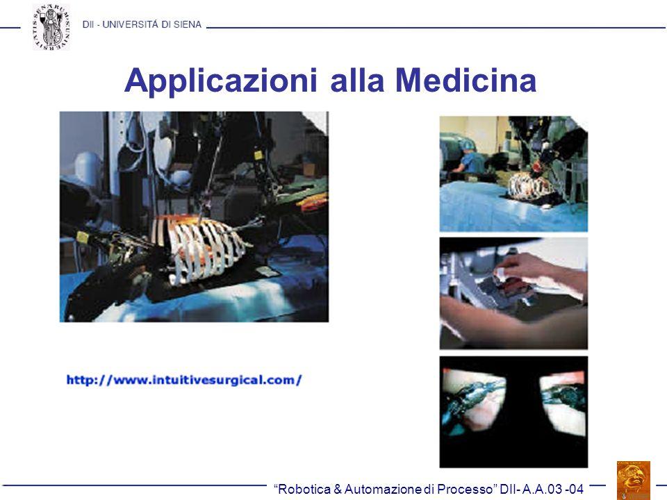 Applicazioni alla Medicina