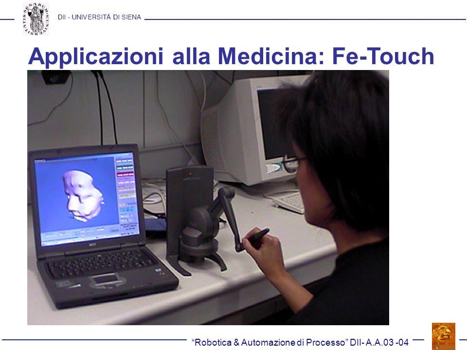 Applicazioni alla Medicina: Fe-Touch