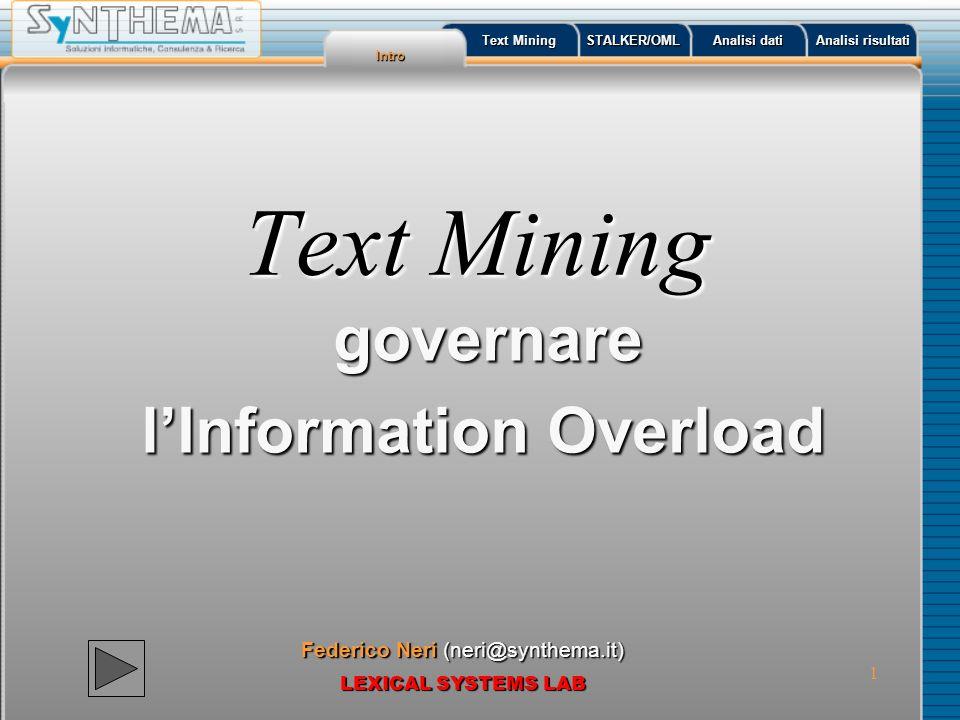 governare l'Information Overload