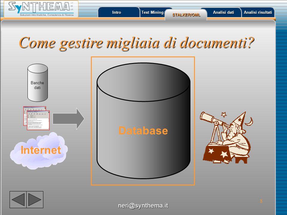 Come gestire migliaia di documenti