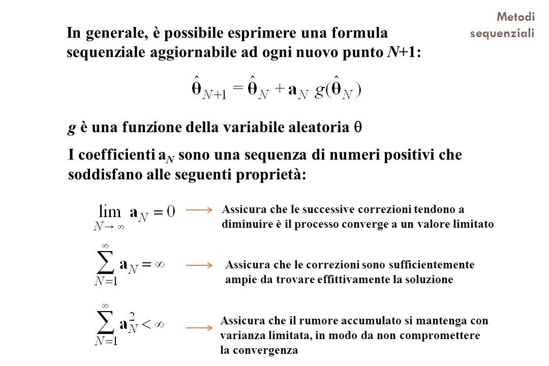 g è una funzione della variabile aleatoria 