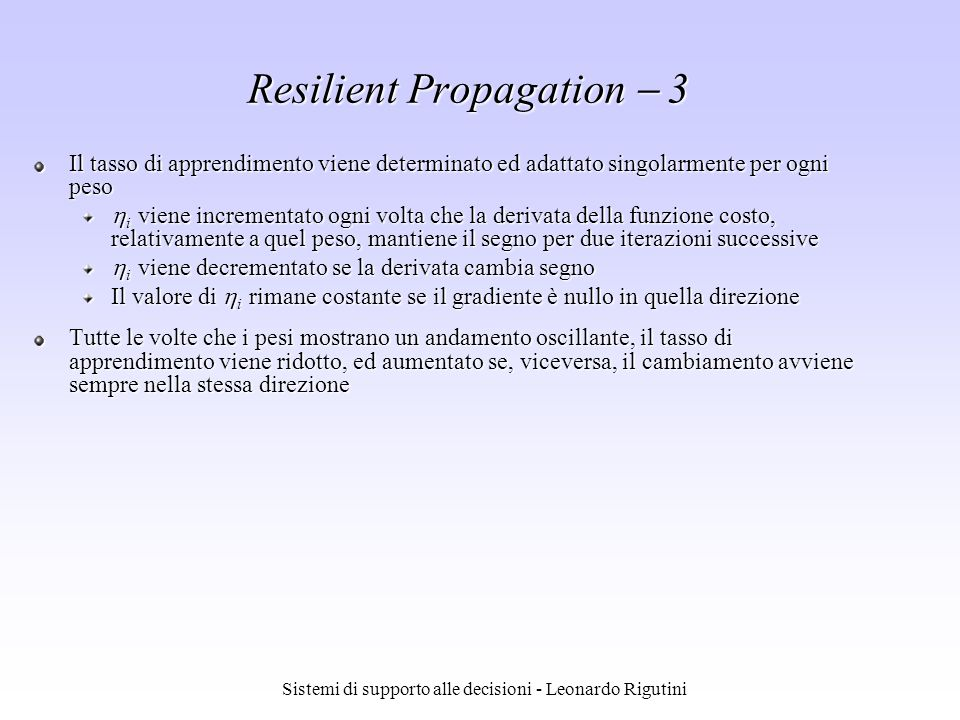 Resilient Propagation  3