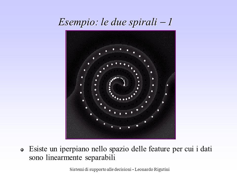 Esempio: le due spirali  1
