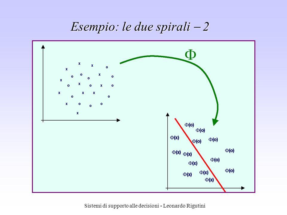 Esempio: le due spirali  2