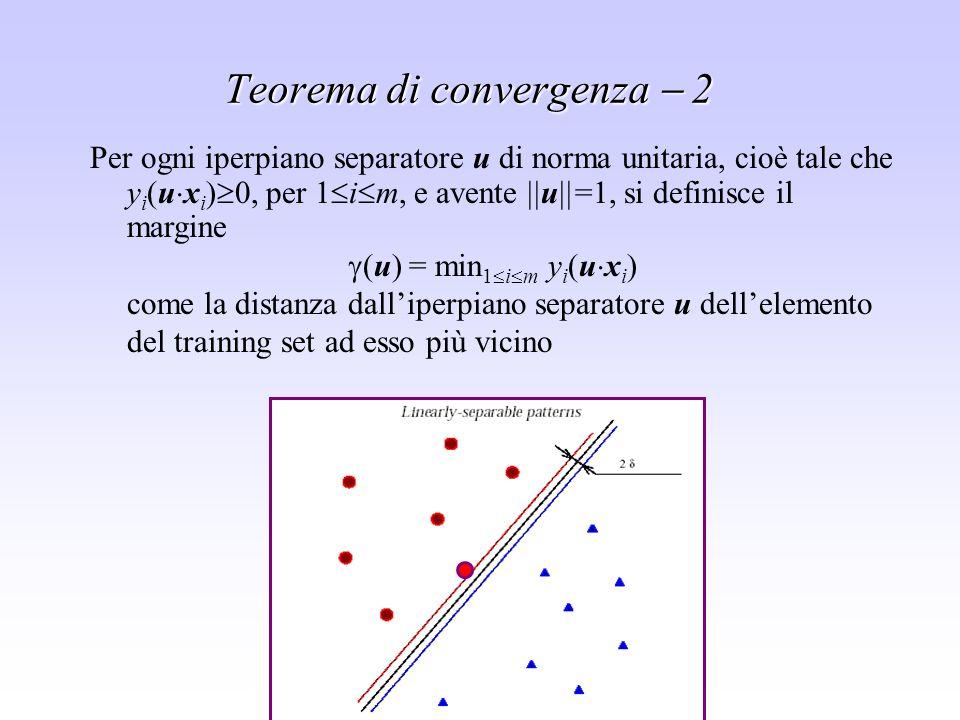 Teorema di convergenza  2