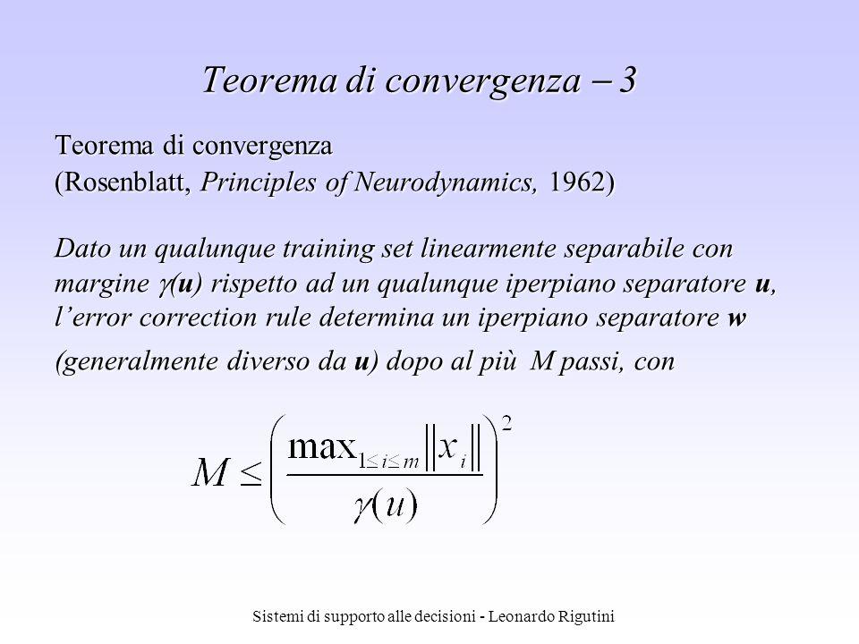 Teorema di convergenza  3